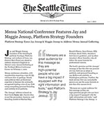 Mensa National Conference Features Jay and Maggie Jessup, Platform Strategy Founders
