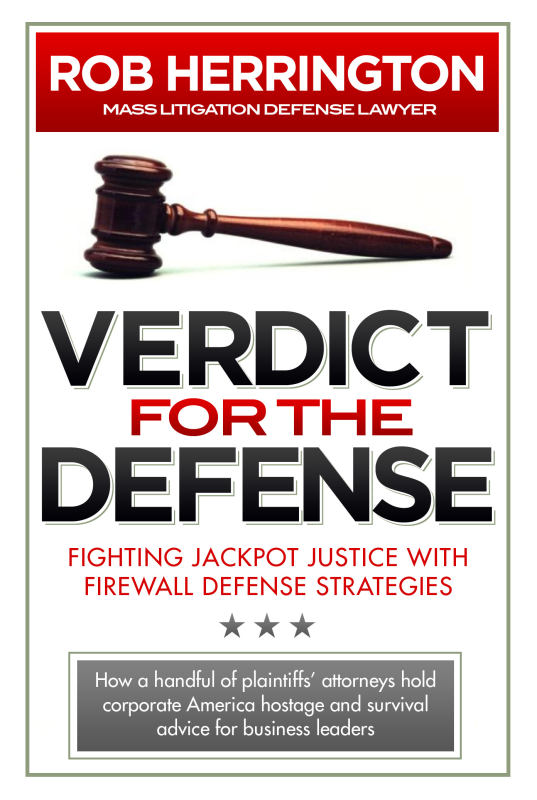 Verdict for the Defense Cover
